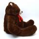 Teddy Bruno, 100cm XXL marrón de la felpa