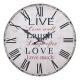 Reloj vivo de la risa del amor