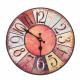 Wall Clock - Vintage Kleur, Ø: 34 cm