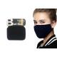 Szövet maszk, mosható újrafelhasználható textil S