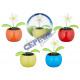Solar Wackel-Blume/Tiere, 4 / s, double blister