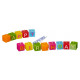 Happy Birthday Candle, 13 pieces, assorted 2-fold.