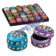"Jewelry box ""Orient"", round, small, abou"