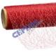"""Ribbon """"web"""", circa 12x300cm, rosso"""
