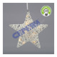 LED Star Snow, kl, 10LED, 25cm d
