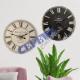 Nostalgia Wooden round wall clock large