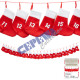 Advent Chain Socks
