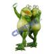 Frog, couple, selfie, about 20cmH
