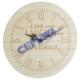 Drewniany zegar, Live Laugh Love, ok. 25cmD