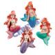 Magnet 'Mermaid', 4 / s, ca.6,5cmH