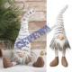 Kantenhocker Fluffy Gnome, small, ca.37cmH