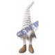 Kantenhocker Fluffy Gnome, gr., Ca.47cmH