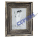 Picture frame brown Vintage , for 1 picture 13x18c