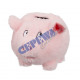 Money box 'Plush pig', with sound, small,