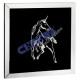 Image 'Crystal Unicorn', L, 100x100cm