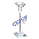 Candle holder 'Diamant', for rod candle, g