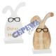 Bunny in glasses, 2 / s, 12x20cm