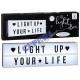 * * REKLAMOWE LED lightbox 'A5 długie', 12