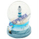"Snowglobe ""lighthouse"", large, about 9cm"