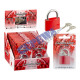Love Castle, 2-assorted, red