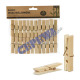 Decapitators made of bamboo natural 24pcs