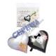 Foil balloon 'bridal couple' on card