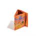 Orange multi drink recycling purse