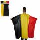 Fan mantello Belgienflagge, ca. 87 x 150 cm, il po