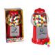 Red gumball machine, with ca. 90 g chewing gums, c
