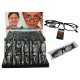 Reading Glasses with Plastic Frame, 5 strength, PV