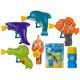 Plastic bubble pistol, marine animals, approx. 6