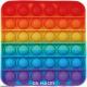 Bubble Toy Rainbow Quadrat ca. 11,5 cm x 11,5 cm