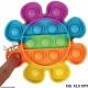 Bubble Toy Rainbow Blume ø ca. 12,5 cm