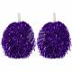 Cheerleader Pom Pom Party pompoms purple
