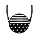 Round Motif Handbag Design: Stripes & Hemp