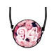 Round Scene Handbag Design: Pink Roses & 94