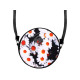 Round motif handbag design: Margheriten