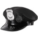 Police cap in black