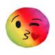 Pillows Rainbow Emoticon Emoji Con * kiss *
