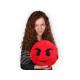 Pillow emoticon * evil *
