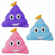 Emoticon Pillows sort heap with crown