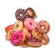 Donut Pillows sorting (24 pcs.) Extra large Ø ca.