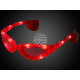 LED goggles red Design: Sports glasses