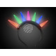 LED light hairband multicolor motive: light bulb