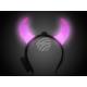 LED light hairband pink