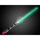 Las espadas de luz ca 72 cm de largo de color verd