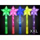 LED Leuchtstab XXL Stern sortiert