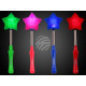 Glow sticks Flashing light stick star metal spring