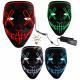 Clasificación de máscaras LED EL máscaras de terro