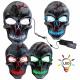Sortierung EL LED Masken Gruselmasken Horrormasken